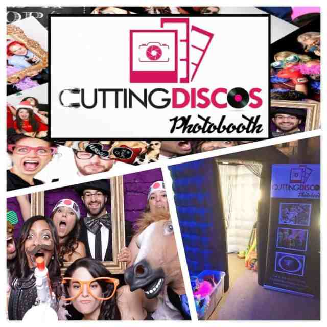 cutting discos photo booth