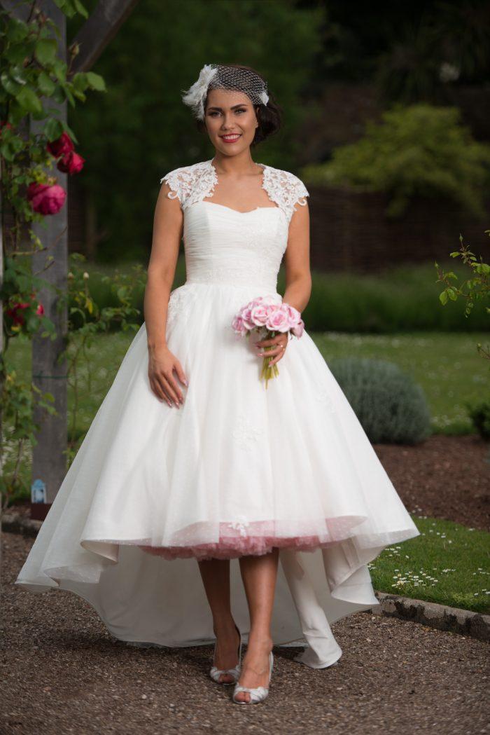 petticoat for short wedding