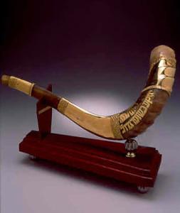 Third Temple - Gold Shofar