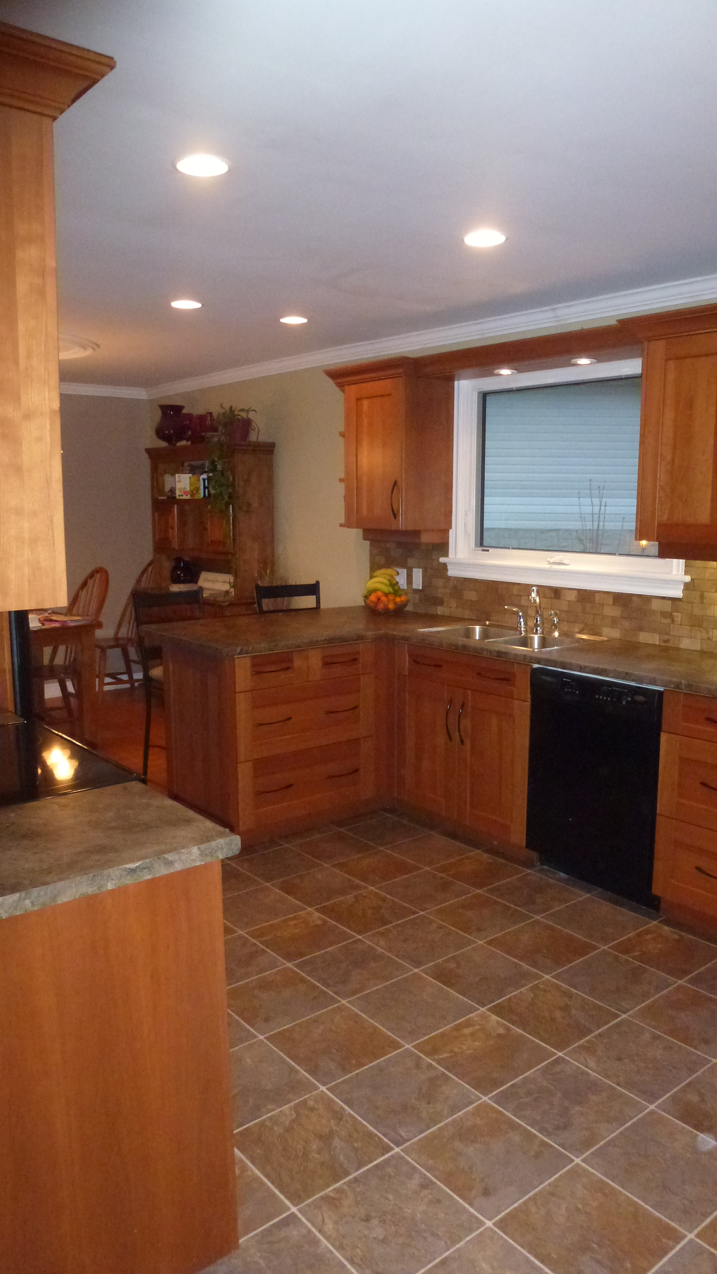 cherry wood kitchen island sink at lowes renovations & ikea installations
