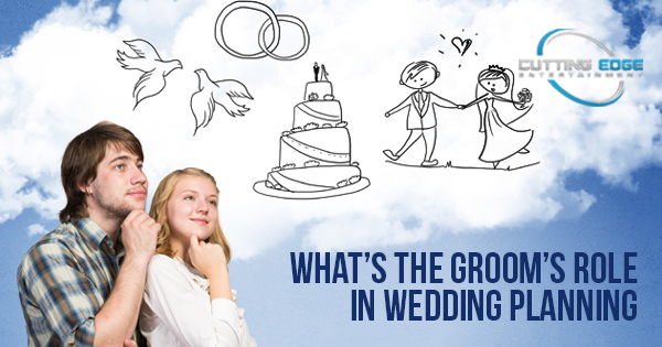 grooms role in wedding planning