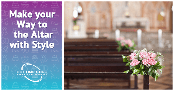 Make your Way to the Altar with Style