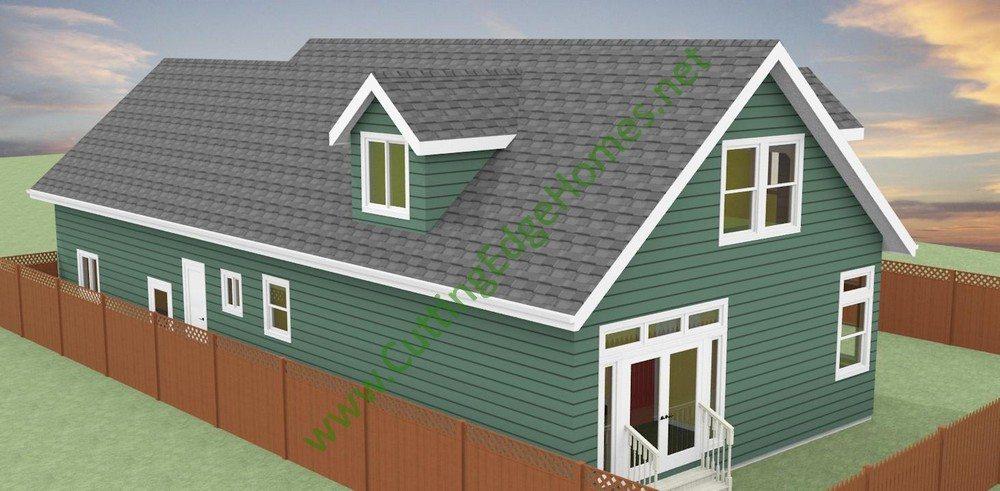 custom cape cod house plans