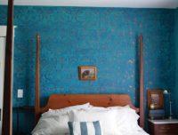 Stencils Add A Romantic Twist To A Bedroom