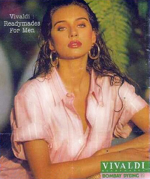 Lisa Ray in Bombay Dyeing Vivaldi Ad