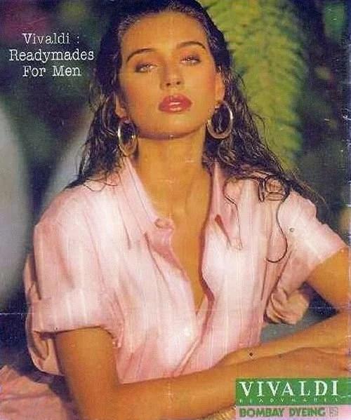 Lisa Ray in Bombay Dyeing Vivaldi Ad