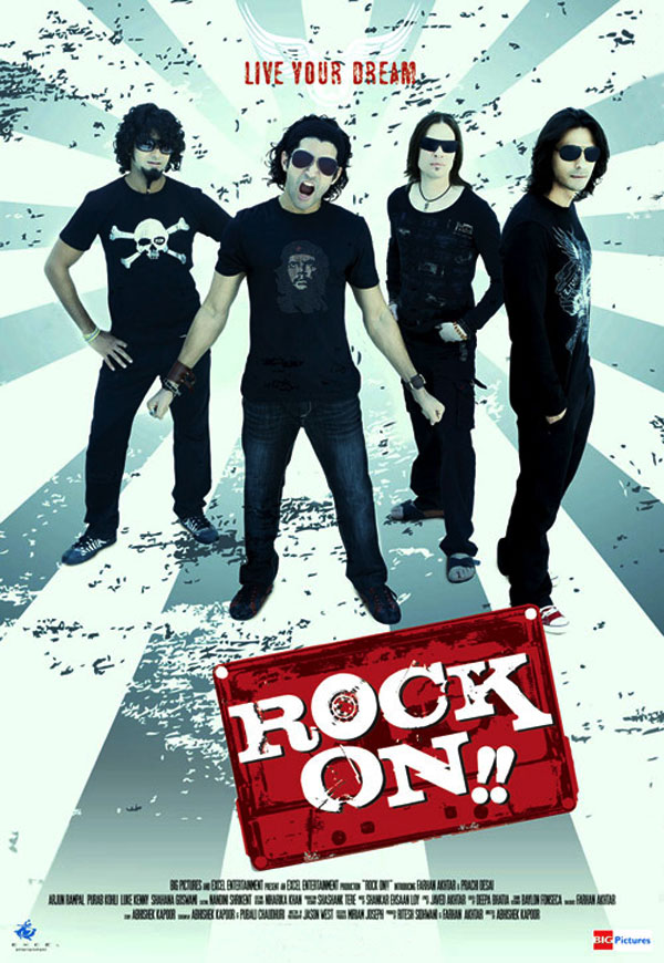 Rock On Movie Poster - Large