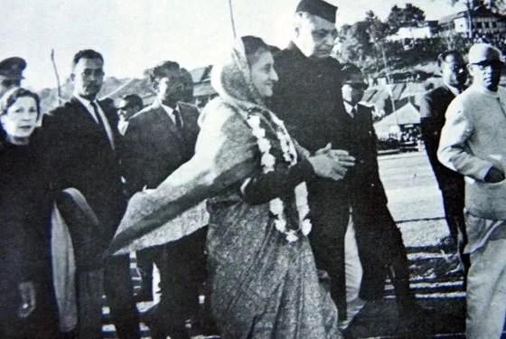 Indira Gandhi - Statehood of Meghalaya
