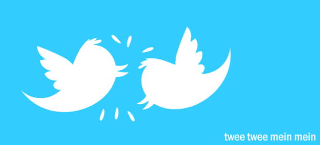 Twitter bird fight