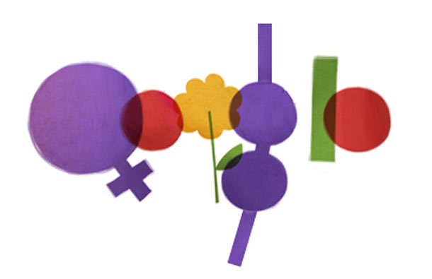 Women's Day Google doodle - Sexist edition