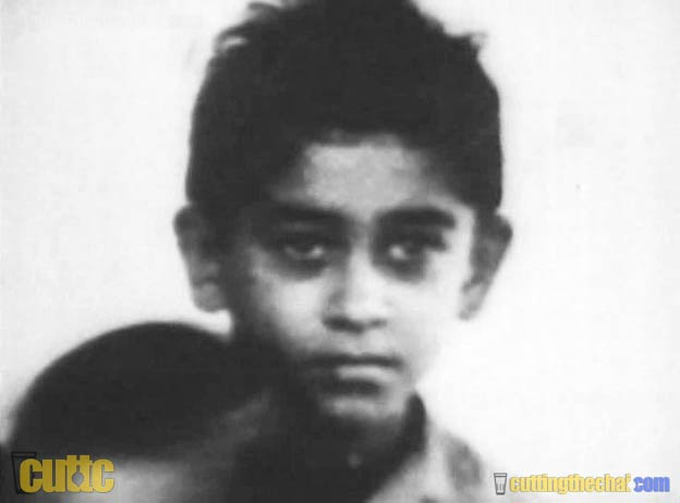 Kishore Kumar as a young boy