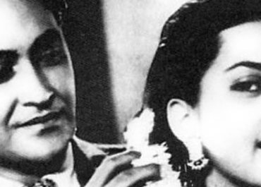 Ashok Kumar with Suraiya