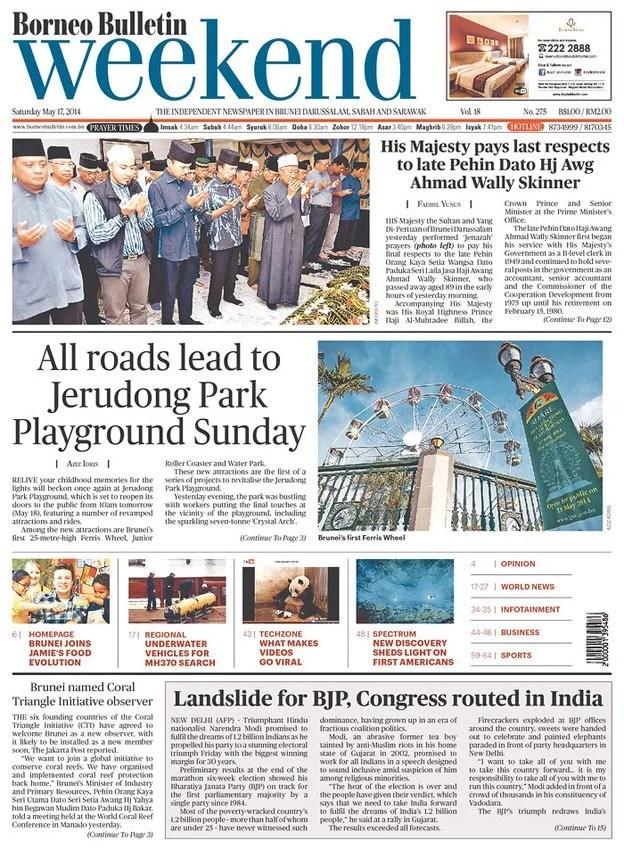 Borneo Bulletin, Bandar Seri Begawan, Brunei Darussalam