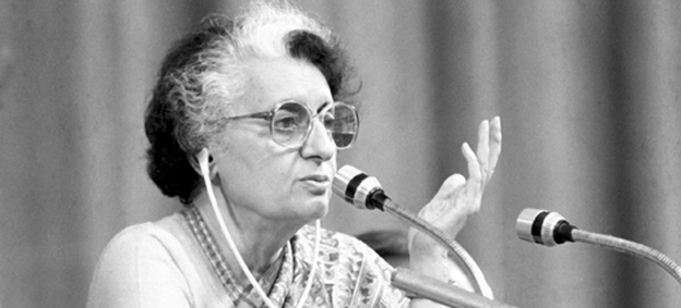 Listen: Indira Gandhi announcing the Emergency on All India Radio, June 26, 1975