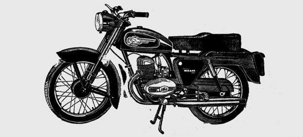 Meet the Sherpa: Royal Enfield 173 cc Sherpa ad from 1965