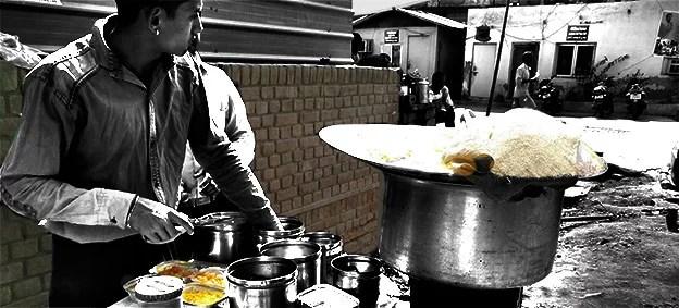 Poha seller in Noida