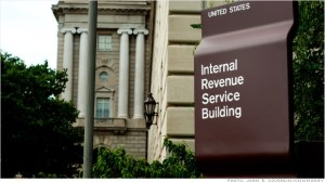 IRS sign