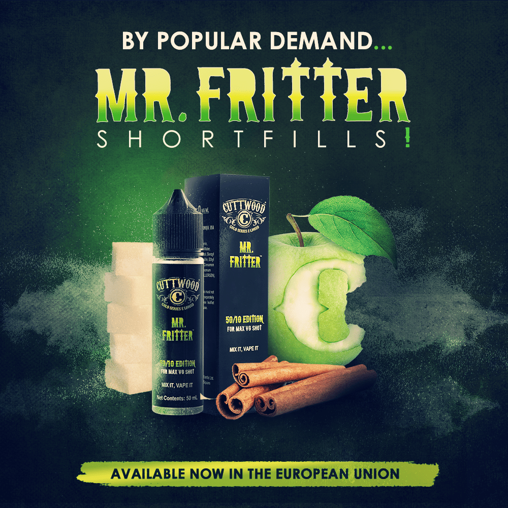 Mr. Fritter Shortfills Available Now in the European Union