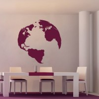 Wall Stickers Planet Earth - Cutzz