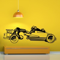 Farm Vehicle Vinyl Wall Decal - Cutzz