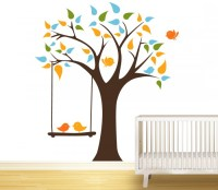 Tree Swing Wall Vinyl Murals - Cutzz
