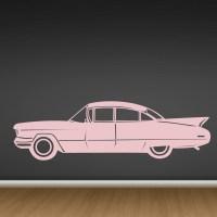 Classic Car Vinyl Wall Decal - Cutzz