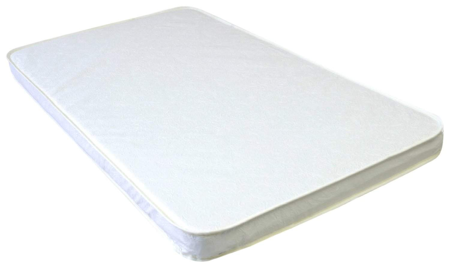 "Best Pack n Play Mattress Under $25 - LA Baby 2"" Compact Crib Mattress  (White)"