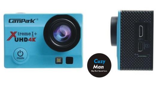 Campark Action Camera 4K WiFi Ultra HD Sports Cam