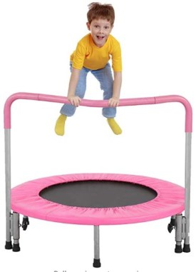 Dkeli Mini Trampoline for Kids