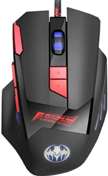 TESHIUCK Wired 8 Button Mice for Gamers