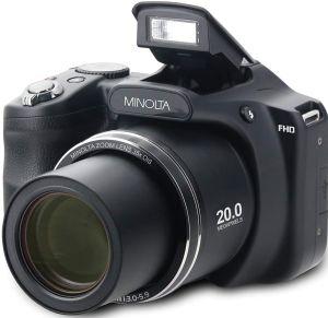 Minolta 20 Mega Pixels High Wi-Fi Digital Camera