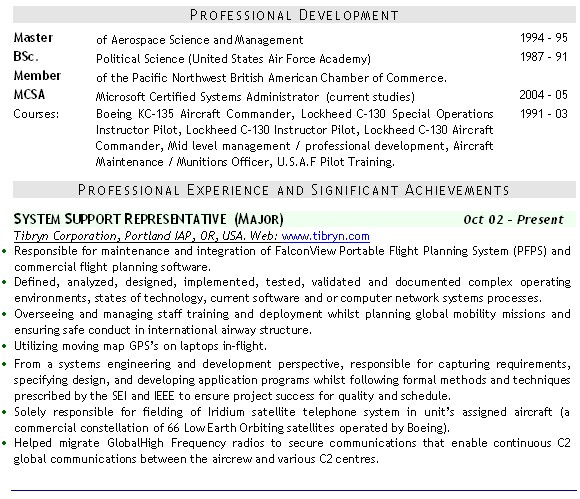 Military CV Examples CV Examples For Army Navy RAF HM