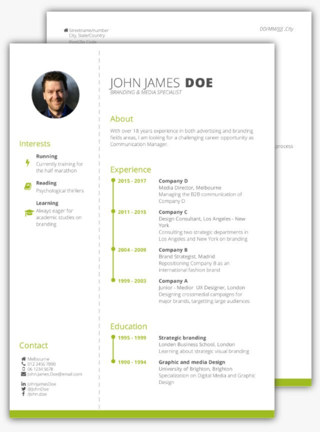 How To Write A Strong CV Without Work Experience CV