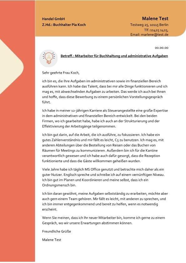 Mitarbeiter fr Buchhaltung und administrative Aufgaben m