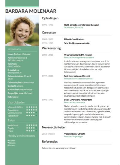 CV Opstellen? Invullen En Direct Je CV Downloaden – CV Nl