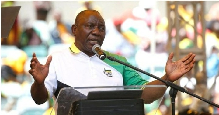 South Africa's Cyril Ramaphosa Urges Action Against Rape Crisis.