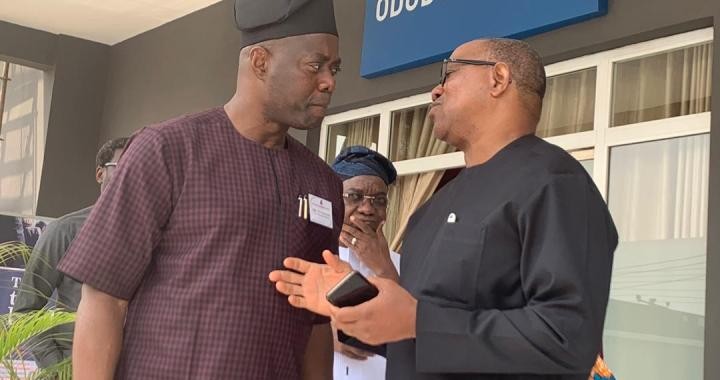 You Are on the Right Track, Obi to Makinde.