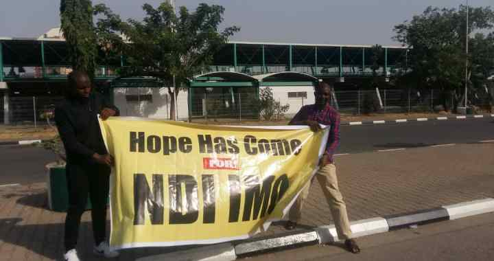 Protest March In Support of Hope Uzodimma.