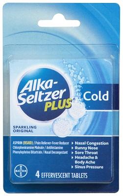 C-Store Supplier: Alka Seltzer Plus Cold Formula | Convenience Valet