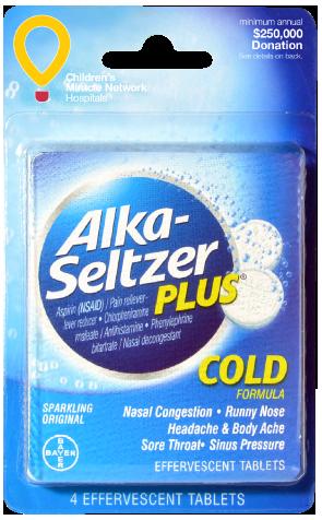 Alka Seltzer Plus | Convenience Valet
