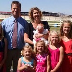 Richard Westra, alumni with Family at Central Valley Christian School