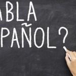Learning Spanish in school