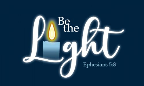 Be the Light Banner