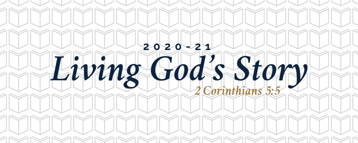 Living God's Story Banner