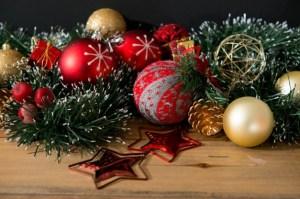 Christmas balls and ornaments