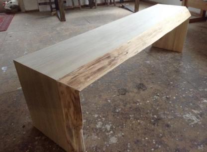Pappelholz mit originaler Baumkante