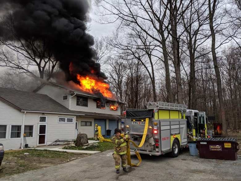 Apartment Fire 4/18/19