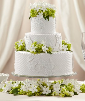 The FTD® Bloom & Blossom™ Cake Décor