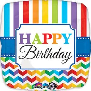 Balloon, jumbo, birthday