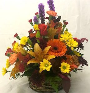 Fall and Thanksgiving flowers